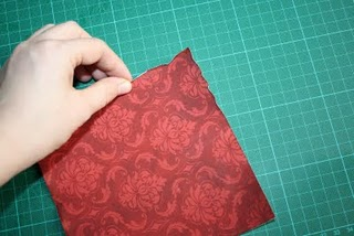 Как состарить края бумаги